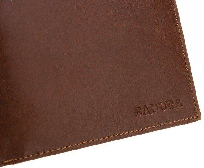 Portfel męski brązowy Badura PO_M035BR_CE
