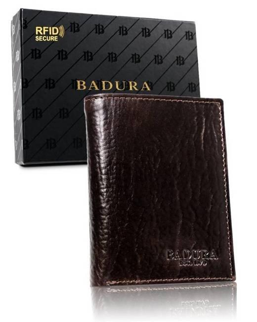 Portfel męski brązowy Badura PO_M053BR_CE