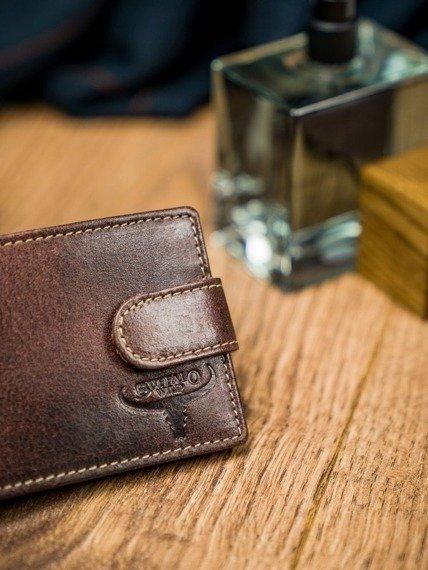 Portfel męski brązowy Buffalo Wild N1190L-HP-5182 RUST