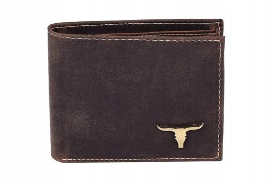 Portfel męski brązowy Buffalo Wild RM-05-BAW-9923 BROWN