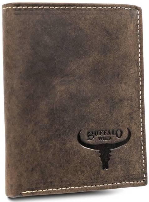 Portfel męski brązowy Buffalo Wild RM-07-HBW BROWN