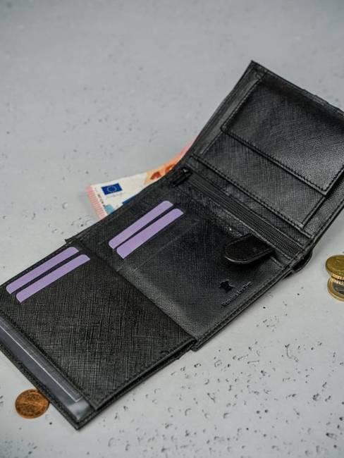Portfel męski czarno-szary Always Wild N4-SF BLACK/GRAY