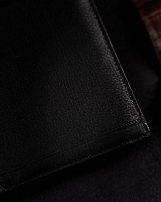 Portfel męski czarny Badura B-N1018-CAW BLACK