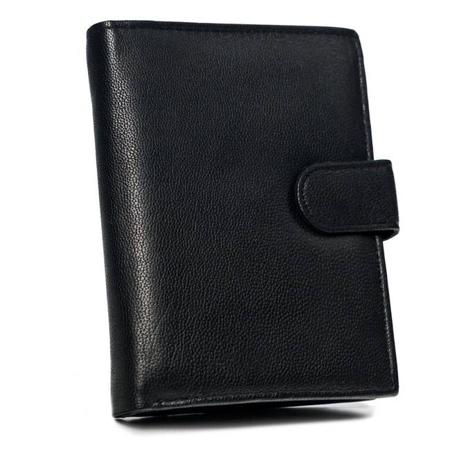 Portfel męski czarny N4L-GOT BLACK