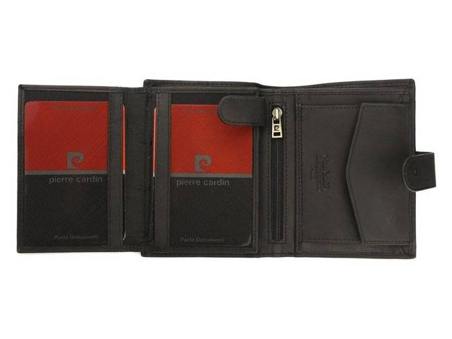 Portfel męski czarny Pierre Cardin 326A TILAK28 NERO RF