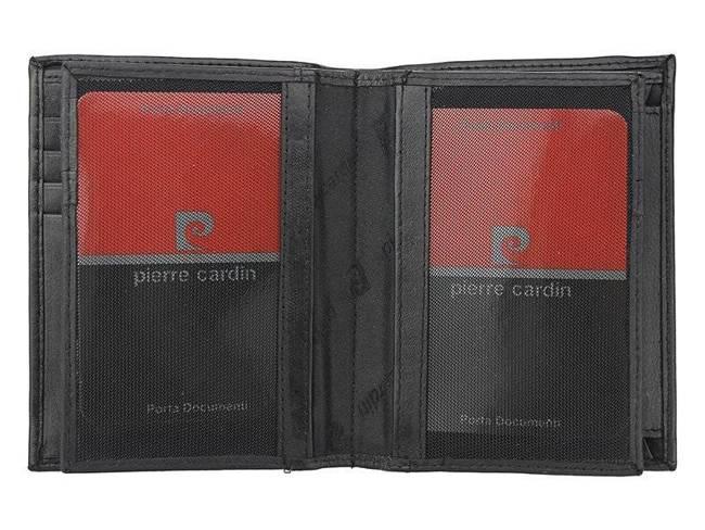 Portfel męski czarny Pierre Cardin 331 TILAK06 NERO RFI