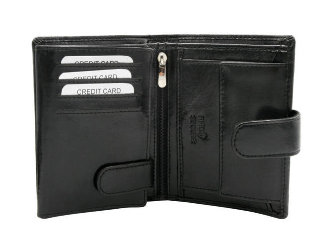 Portfel męski czarny Rovicky GWR-03-ARI-9331 BLAC