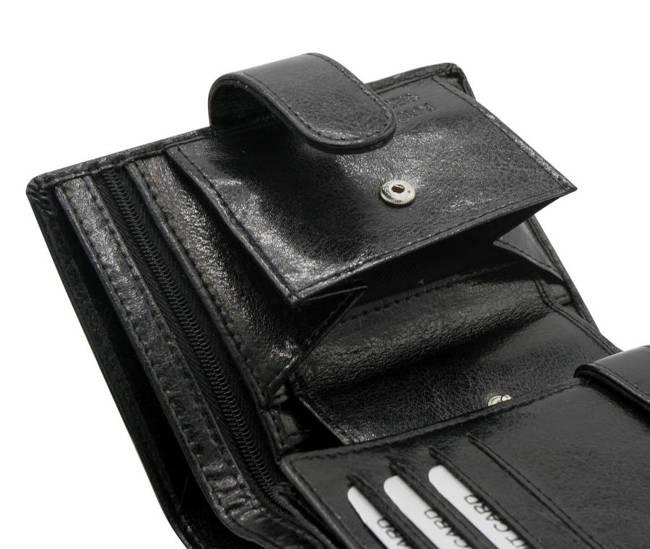 Portfel męski czarny Rovicky GWR-04-R-9256 BLACK