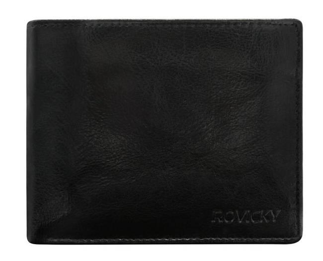 Portfel męski czarny Rovicky GWR-06-R-9270 BLACK