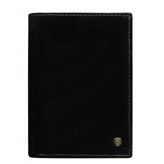 Portfel męski czarny Rovicky N74-RVT BLACK