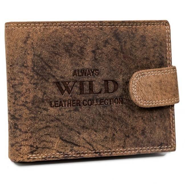 Portfel męski j. brązowy Always Wild RMH-02L-7628 L.BROWN