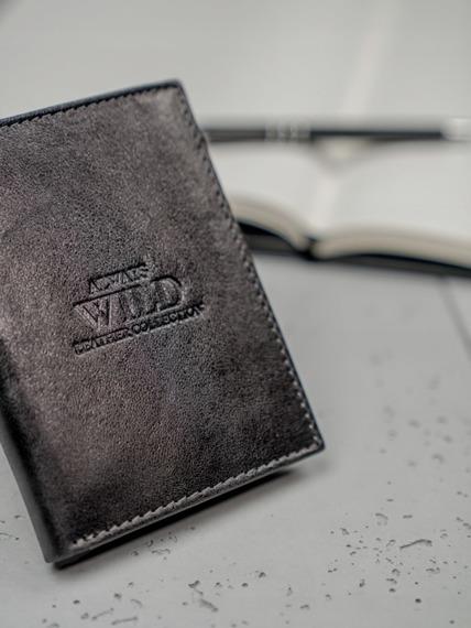 Portfel męski skórzany Always Wild N104-GTC czarny