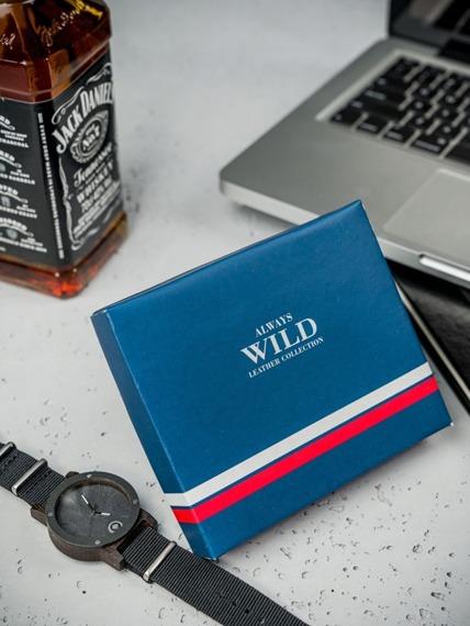Portfel męski skórzany Always Wild N992-GV