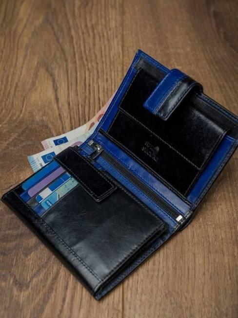Portfel męski skórzany RFID Rovicky D104L-VT2