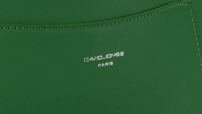 Saszetka damska zielona David Jones  CM5707 GREEN