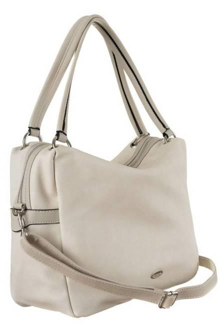 Shopper bag beżowy David Jones CM5665 BEIGE