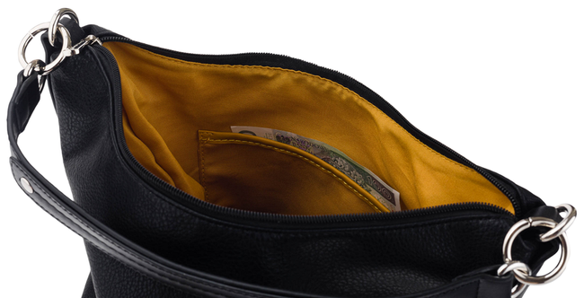 Shopper bag brązowy David Jones CM5632 BROWN