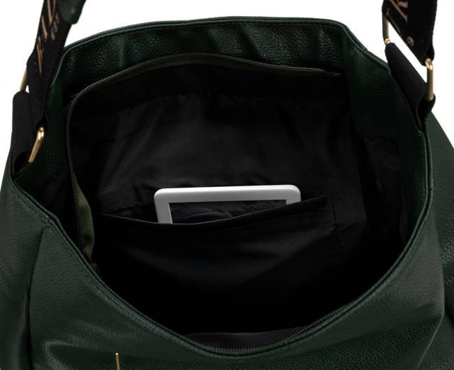 Shopper bag c. zielony Badura T_D133ZI_CD