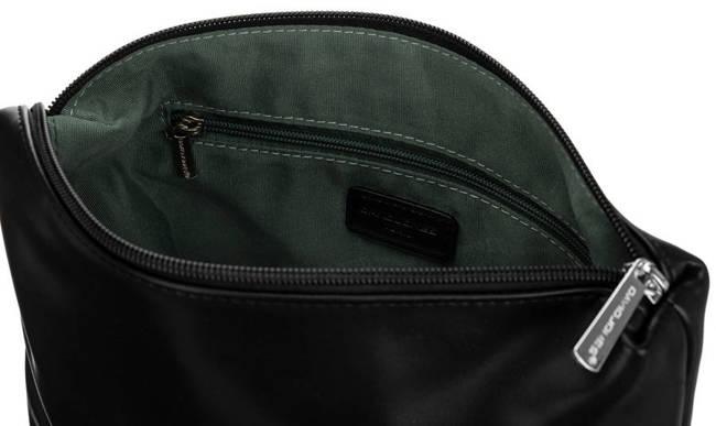 Shopper bag czarny print David Jones 6534-2 BLACK