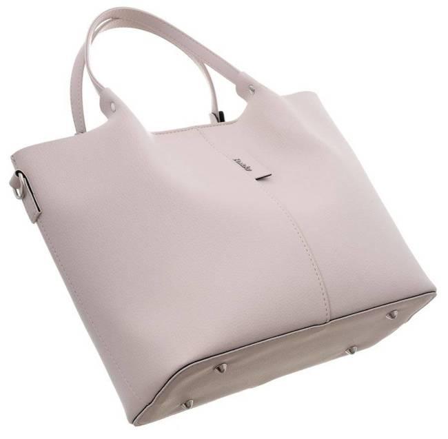 Shopper bag damski Rovicky 1335 BLADY RÓŻ