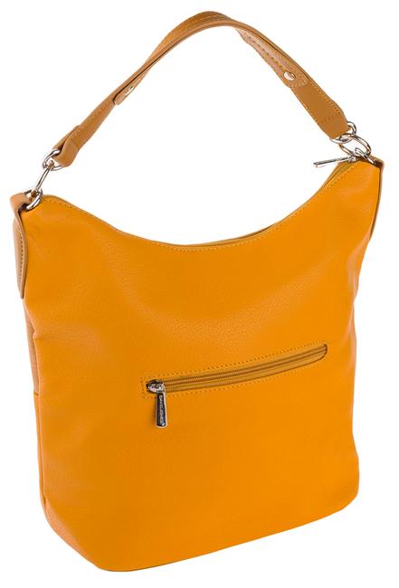 Shopper bag żółty David Jones CM5632 YELLOW