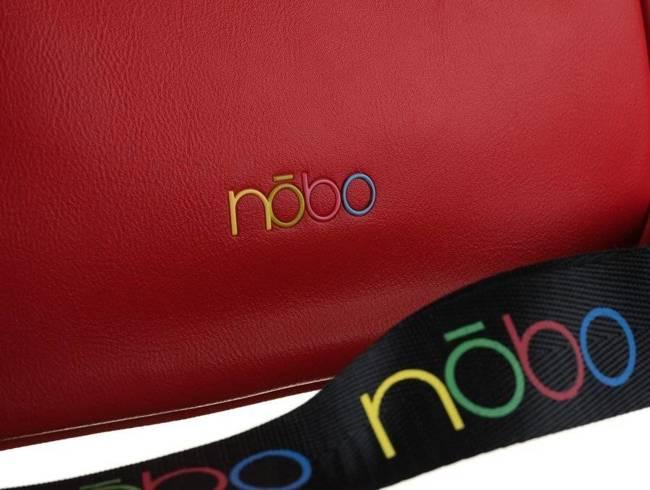 Shopper damski czerwony Nobo NBAG-K3300-C005