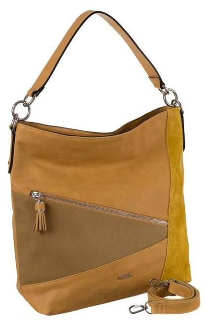 Shopper damski żółty David Jones 6286-2 YELLOW