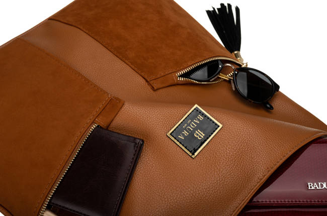 Shopper worek kamelowy Badura T_D232CA_CD