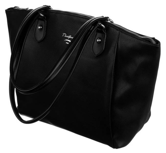 Shopperka czarna David Jones 6607-3A BLACK