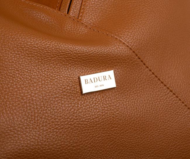 Shopperka kamelowa Badura  T_D177CA_CD
