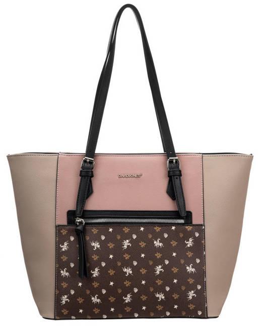 Shopperka różowa David Jones 6531-4 PINK