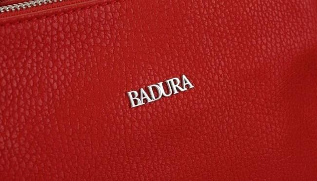 Skórzana listonoszka damska czerwona Badura T_D210CR_CD