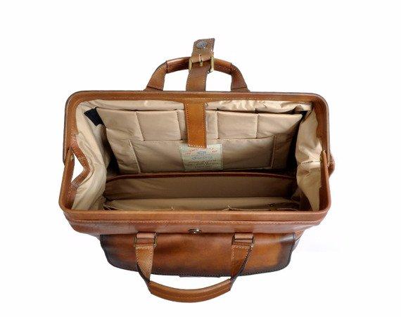 Skórzana torba lekarska DAAG Alive 33 koniak