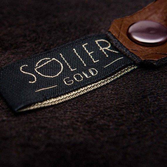 Skórzane etui na klucze SOLIER SA11 Brązowy Vintage