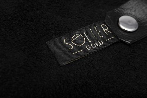 Skórzane etui na klucze SOLIER SA11 czarne