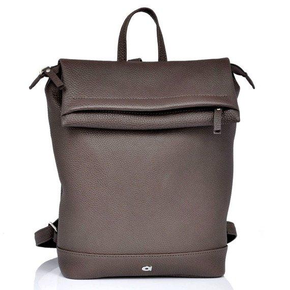 Skórzany plecak damski DAAG Native 24 brązowy
