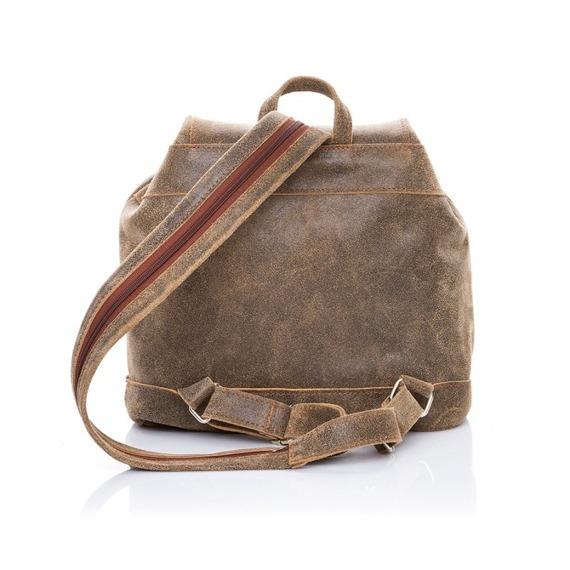 Skórzany plecak damski Paolo Peruzzi 117-PP czarny