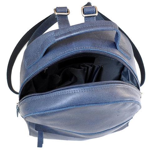 Skórzany plecak granatowy DAAG FUNKY GO! 34