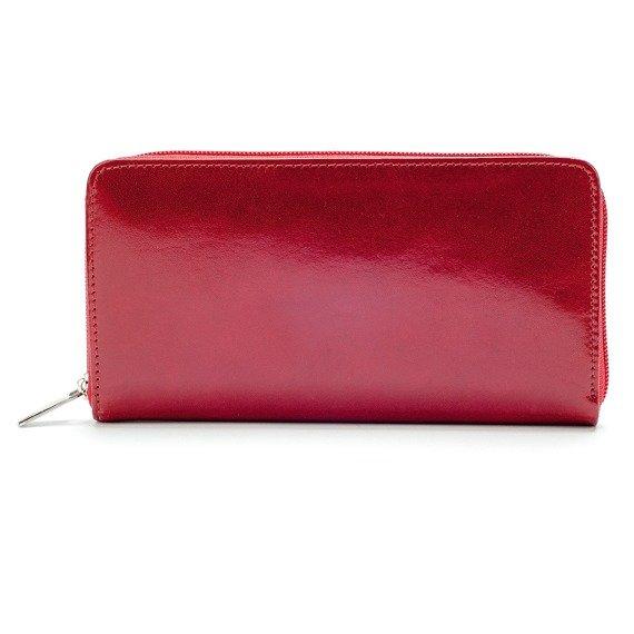 Skórzany portfel damski kopertówka w pudełku GA38