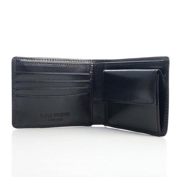 Skórzany portfel męski PAOLO PERUZZI GA181 brązowy