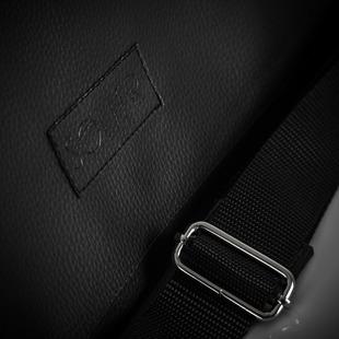 Stylowa torba męska na ramię casual SOLIER S11 czarna