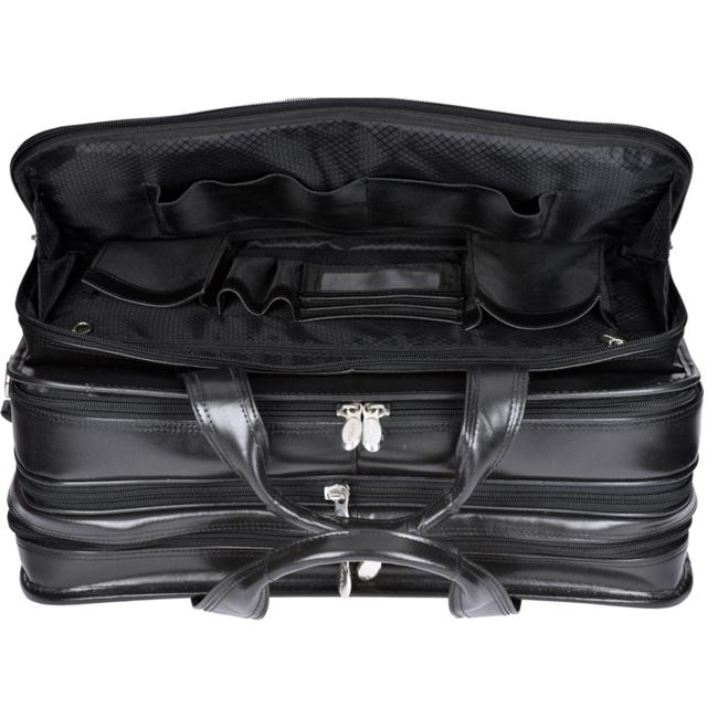 """Torba biznesowa na laptopa ramię 17"""" Mcklein Walton 83985 czarna"""