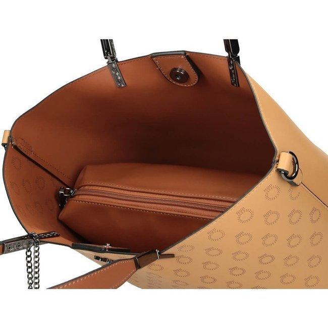 Torba damska na ramię camel NOBO NBAG-K0530-C017