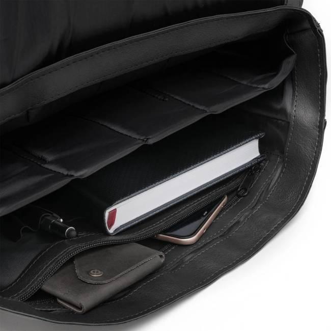 Torba męska listonoszka na laptopa Brødrene b23 czarna