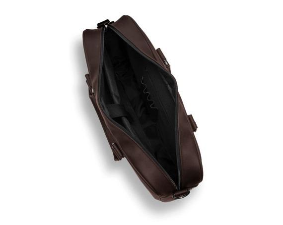 Torba na laptop Solier S34 Longford ciemny brąz