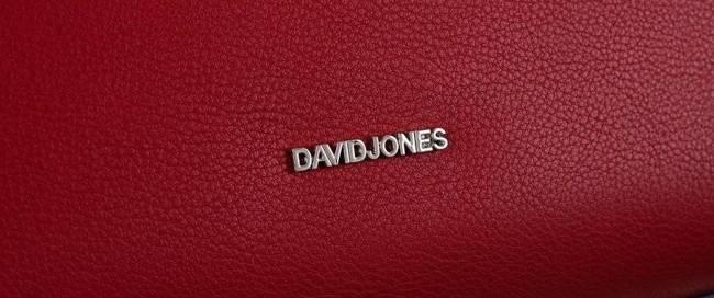 Torebka damska David Jones 6295-1 czerwona
