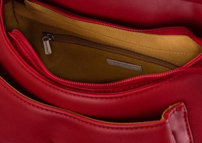 Torebka damska David Jones CM5750 czerwona
