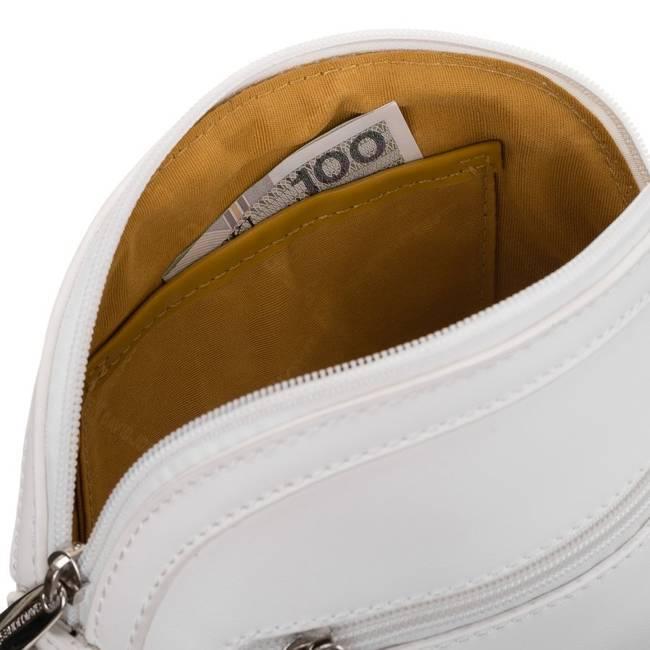 Torebka damska biała David Jones 6312-1