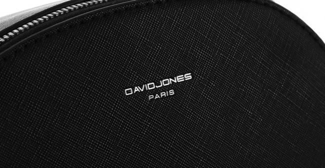 Torebka damska czarna David Jones 6224-2