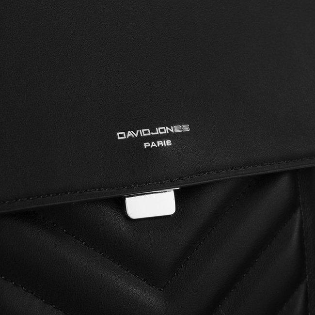 Torebka damska czarna David Jones 6501-1 BLACK